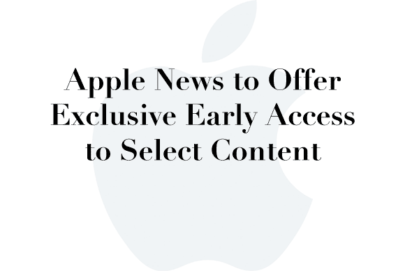 apple news exclusives