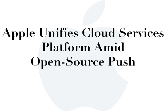 apple unified cloud