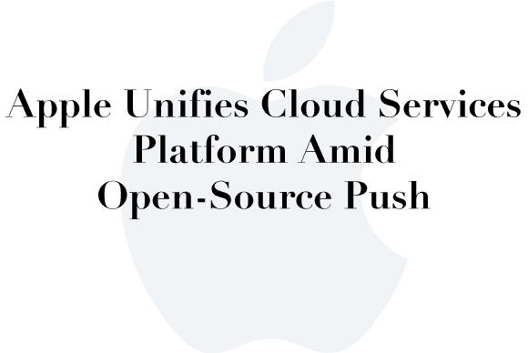 apple unified cloud