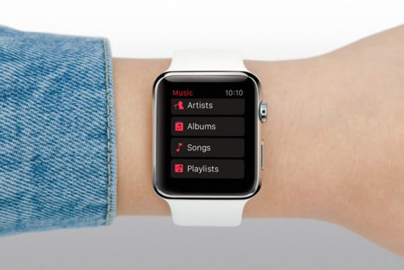 apple watch music player