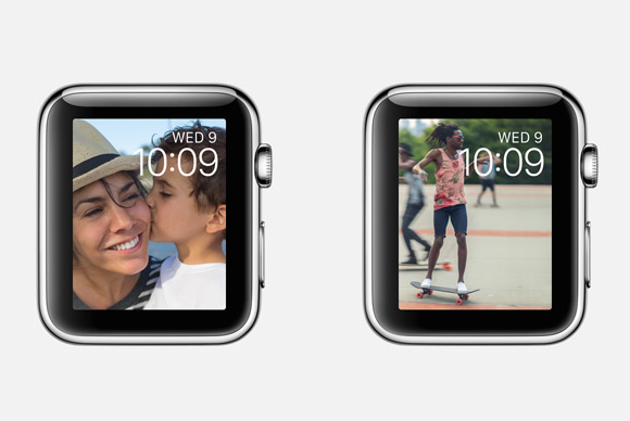 apple watch live photos