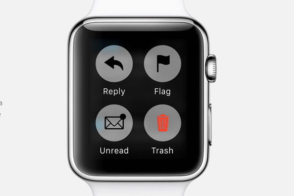 apple watch mail