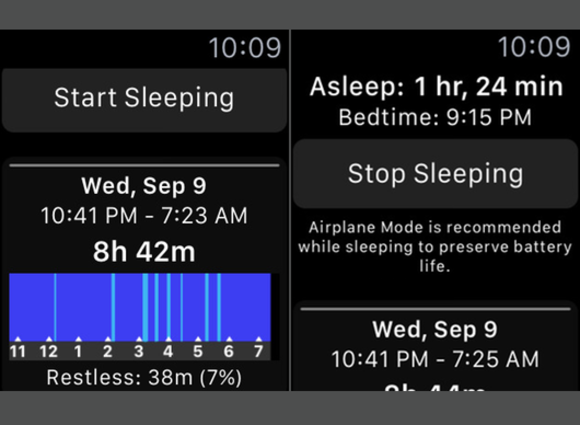 apple watch sleep plus