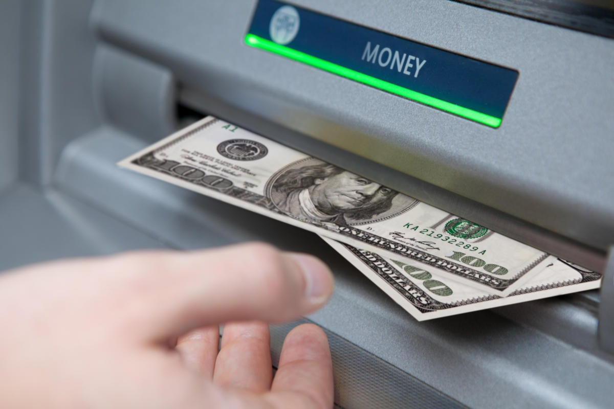 Attackers steal money from ATMs using malware