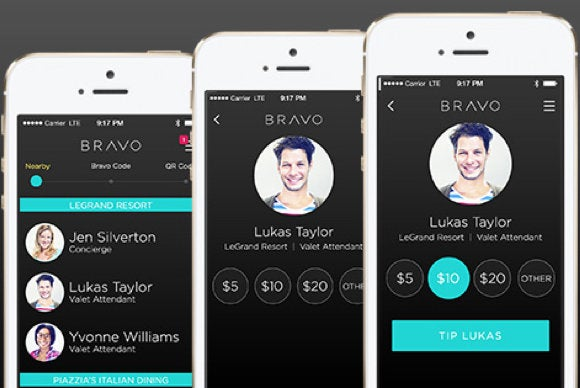 bravo tipping app