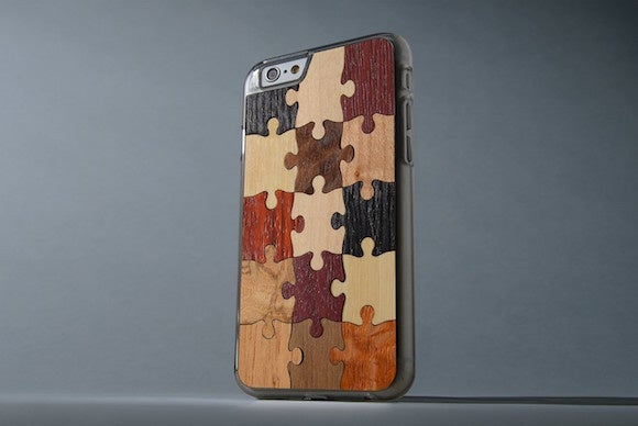 carved slimwood iphone