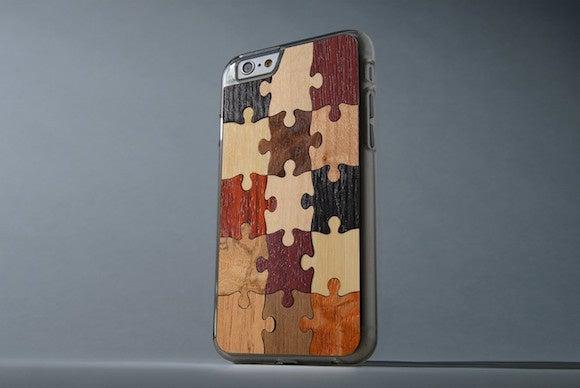 carved slimwood iphone