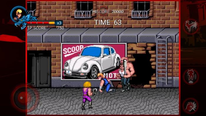 classic games doubledragon