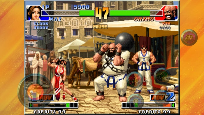 classic games kingoffighters98