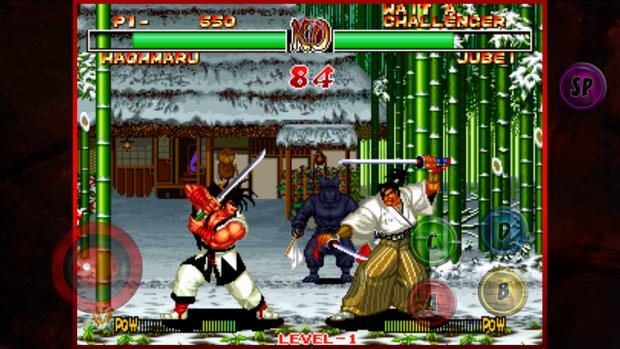 classic games samuraishodown2