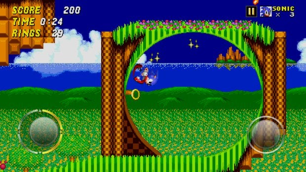 classic games sonic2