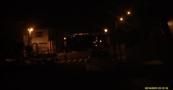 cobra cdr 840 dashcam night