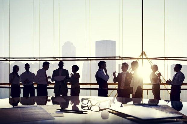 corporate meeting teamwork collaboration