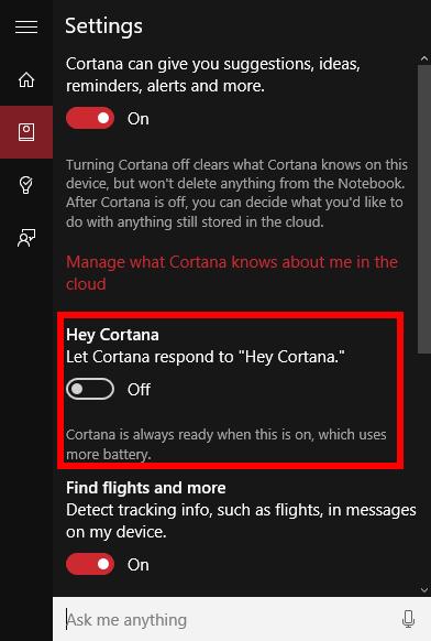 How To Enable Windows 10 U0026 39 S  U0026 39 Hey Cortana U0026 39  Voice Commands
