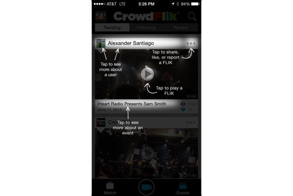 crowdflik app