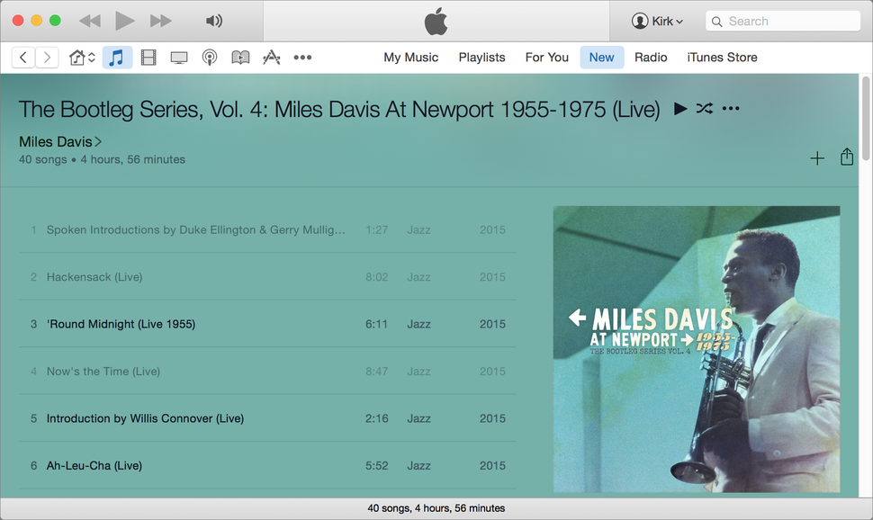 itunes how to change music to audiobook