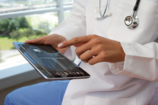 doctor ipad healthcare