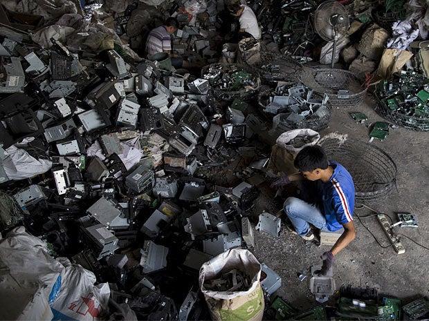 e waste dump china 12