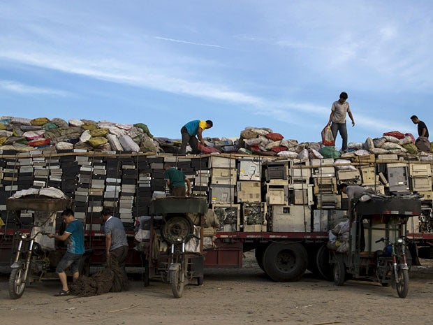 e waste dump china 6