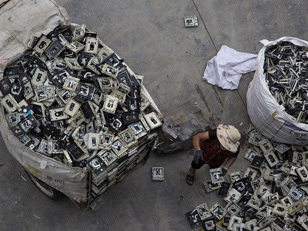 e waste dump china 9