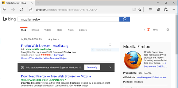 free download firefox for windows 10