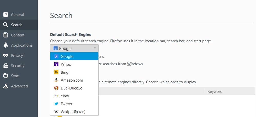 How to make Cortana search with Google instead of Bing in
