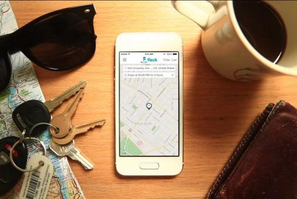 fleck parking app