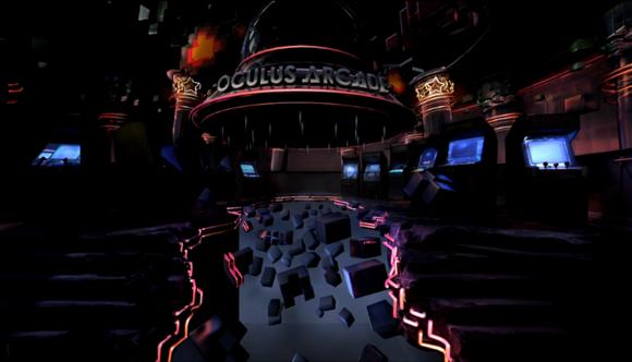 gearvr oculus arcade