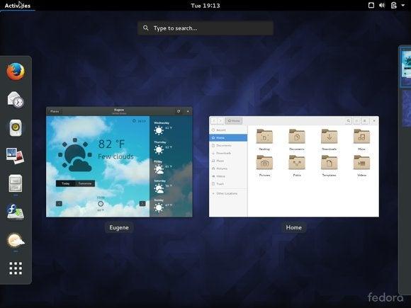 gnome desktop GNOME 3.18