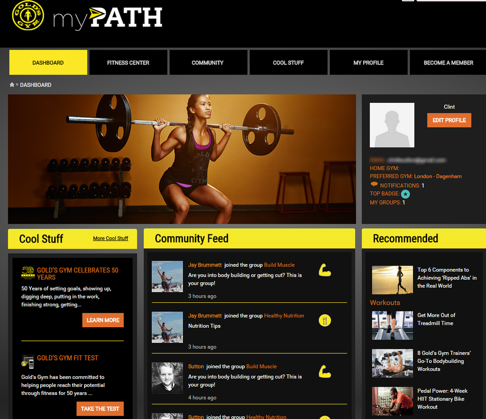 Gold's Gym muscles up on IT to engage with customers | CIO