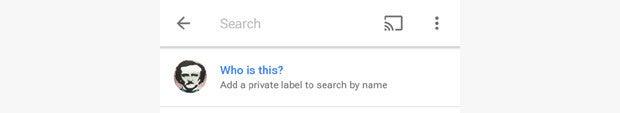 Google Photos Add Custom Person Label