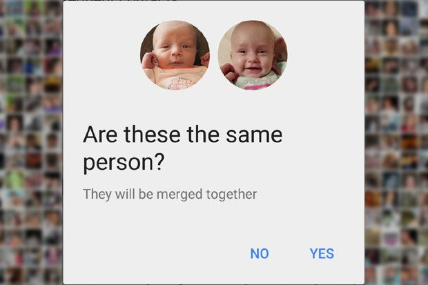 Google Photos Custom Person Labels