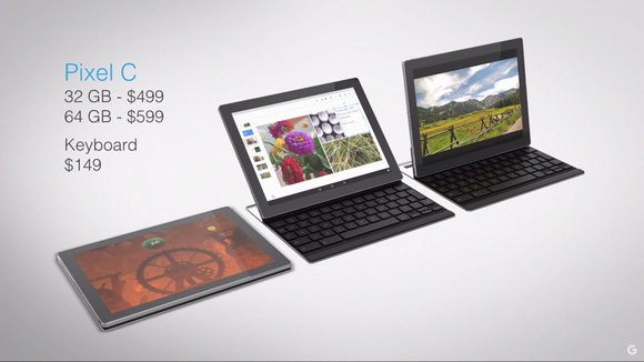 google pixel c tablet pricing