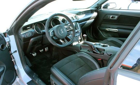 gt350 interior