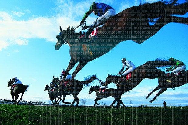 horse race fast binary code