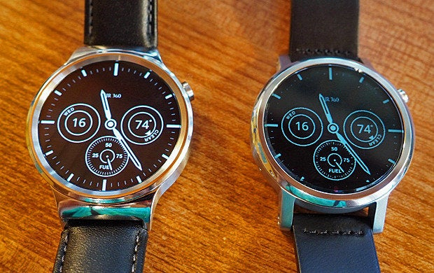 Huawei Watch, Moto 360 - Ambient