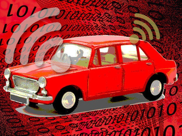 internet of things smart car