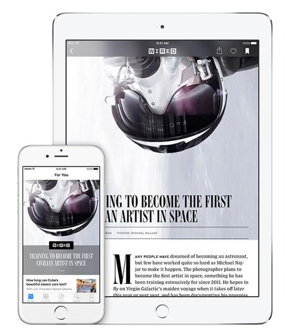ios 9 news app