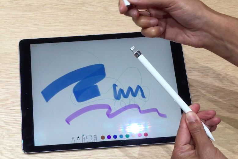 Hands-on with iPad Pro and Apple Pencil, built for getting ...
