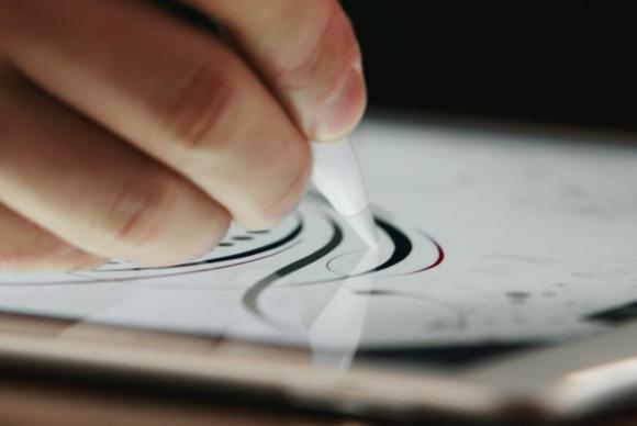 ipad pro apple pencil screen