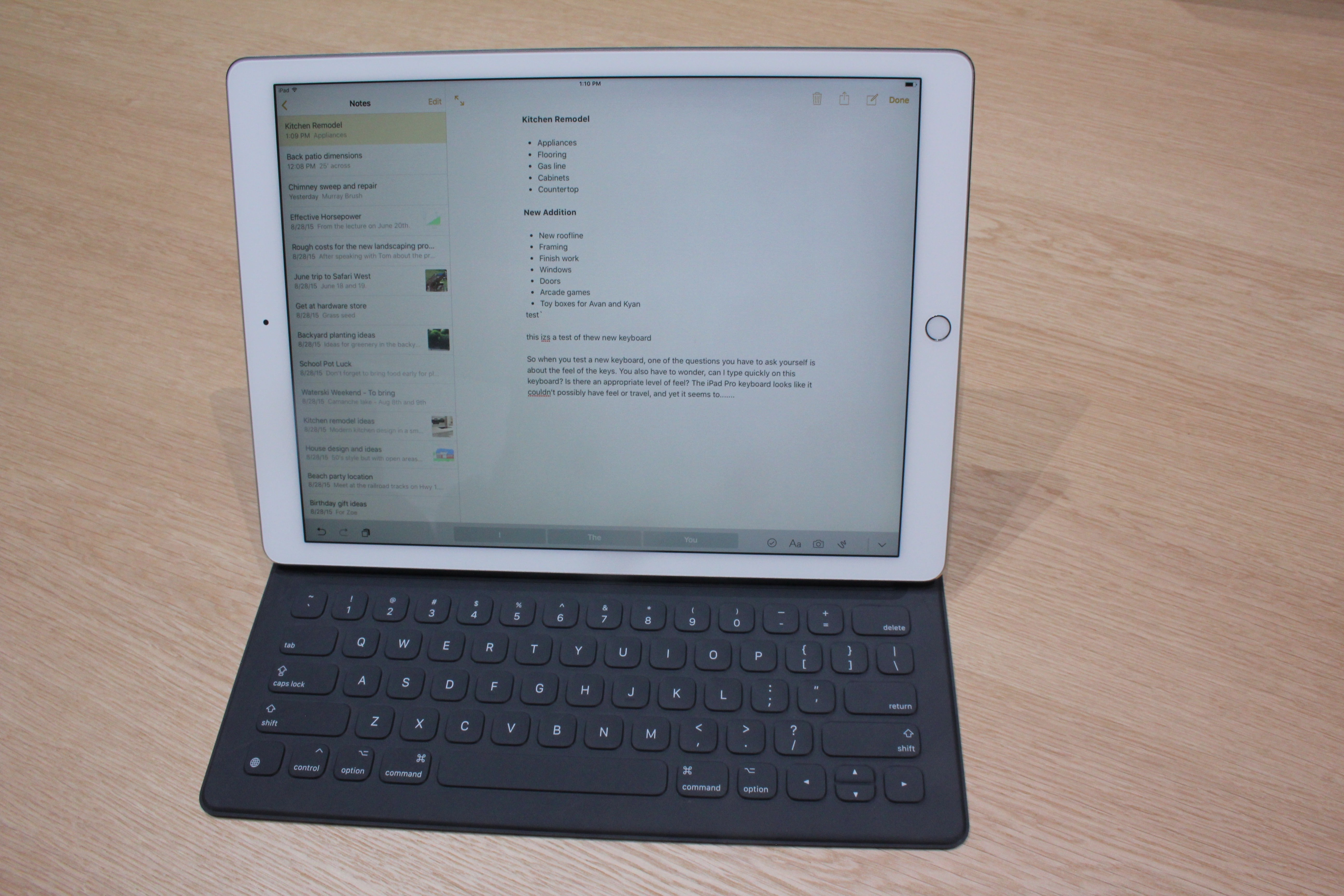 Ipad Pro Keyboard Folded