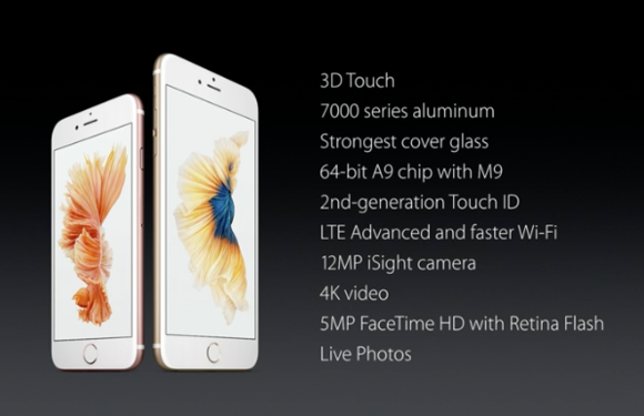 iphone 6s and 6s plus changes