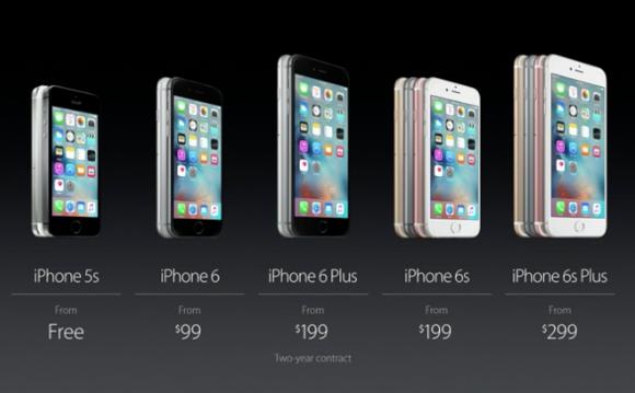 iphone price lineup