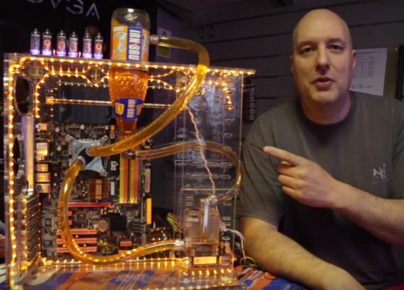 irn bru water cooling