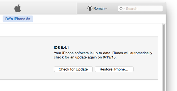 itunes 12 check update