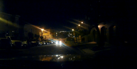 kdlinks x1 dashcam night