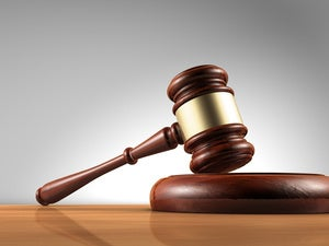 lawsuit judge law court decision sued gavel