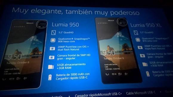 Lumia 950xl Lumia 950 diapositivas de Microsoft