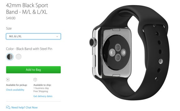 lxl sports band apple watch.ong