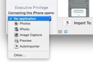 mac911 image capture choose app